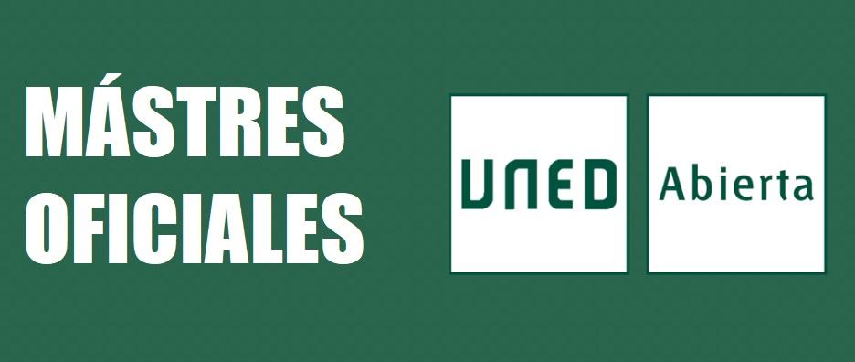Másteres Universitarios Oficiales UNED