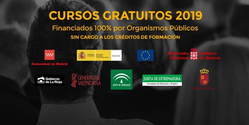 CURSOS GRATIS 2019
